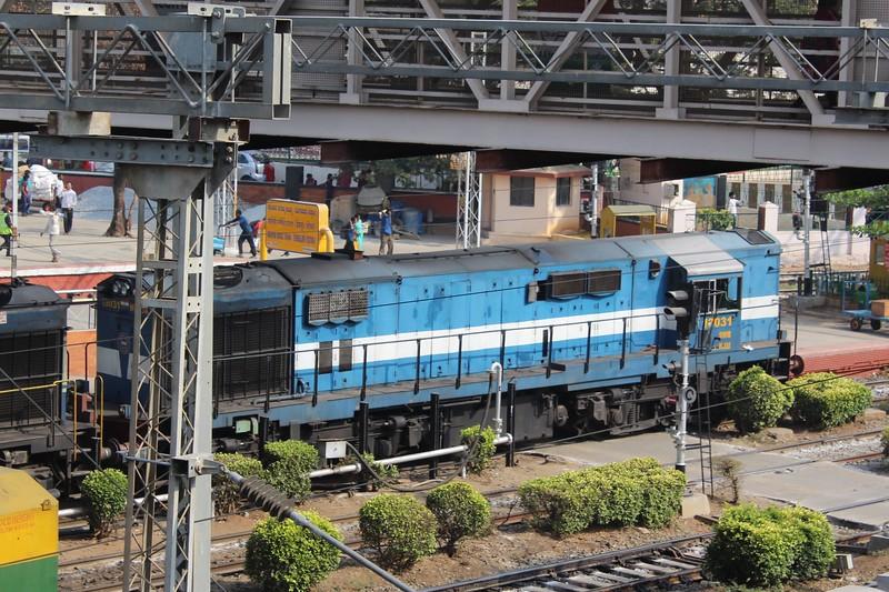 Indian Railways WDG-3A Class Locomotive No. 13031 at Bengaluru City KSR Station [SBC]