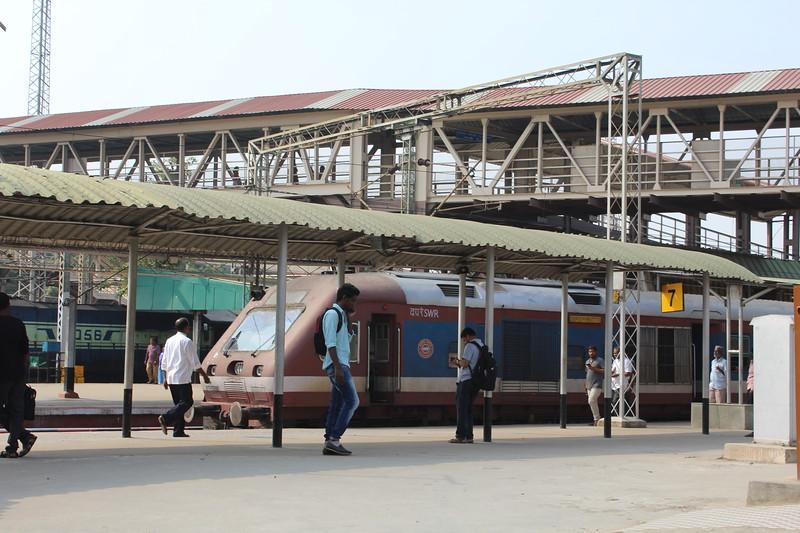 Indian Railways DEMU at Bengaluru City KSR Station [SBC].