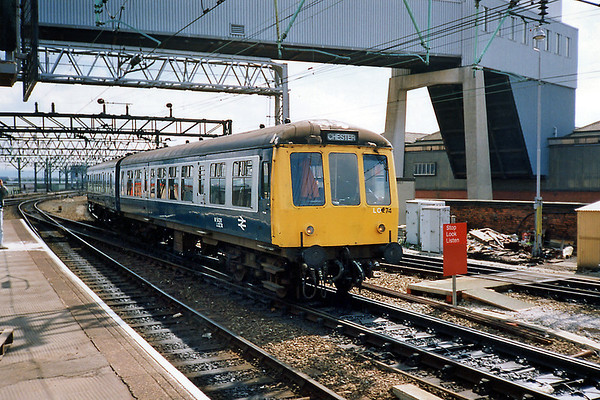 53978 and 54261, Manchester Piccadilly 8/5/1991