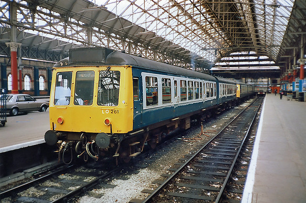 54485 and 51906, Manchester Piccadilly 8/5/1991