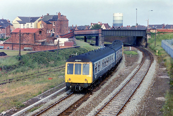 51903, 54267, 54380 and 51427, Southport 20/6/1992 1720 Southport-Manchester Victoria