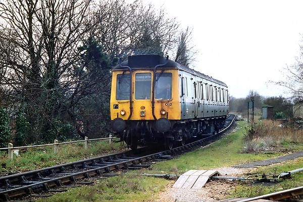 55032 Stourbridge Junction 7/3/1992
