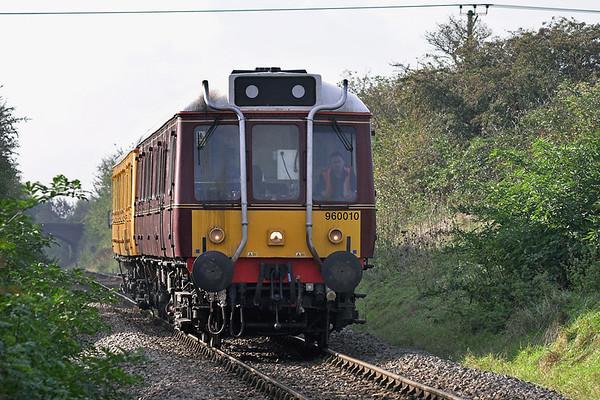 55024 and 55019, Smokey Row 24/10/2006 3S75 1138 West Ruislip-Aylesbury