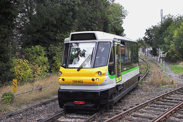 139002 Stourbridge Junction 23/9/2011 2P70 1134 Stourbridge Town-Stourbridge Junction