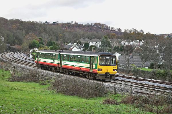 1430605 Ystrad Mynach 4/12/2005 2R12 1405 Cardiff Central-Rhymney