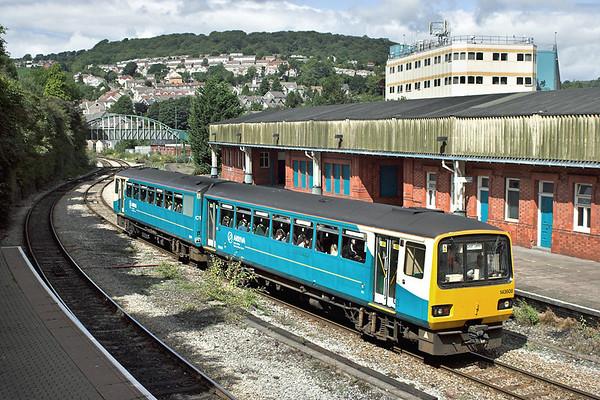 143608 Pontypridd 21/8/2006 2F44 1317 Treherbet-Cardiff Central