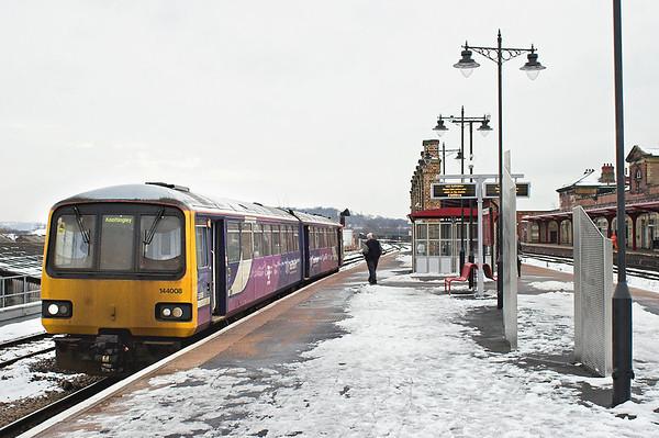 144008 Wakefield Kirkgate 25/1/2013 2F73 1331 Wakefield Kirkgate-Knottingley