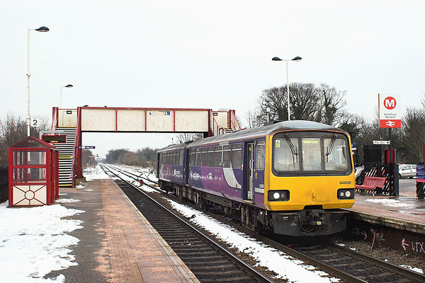 144006 Pontefract Monkhill 25/1/2013 2F74 1353 Knottingley-Leeds