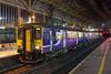 150206 and 156423, Preston 18/11/2016<br /> 2J61 0619 Blackpool North-Blackburn<br /> (via Manchester Victoria)