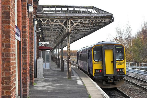 153307 Wakefield Kirkgate 23/11/2010 2F69 1131 Wakefield Kirkgate-Knottingley