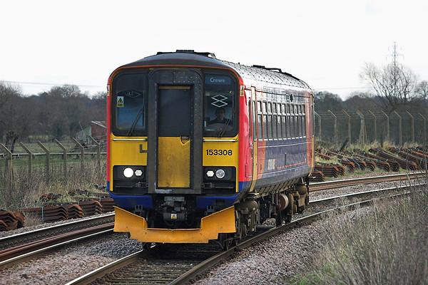 153308 Uttoxeter 28/11/2012 1K11 1142 Derby-Crewe