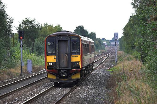 155343 Mills Hill 26/9/2005 2E33 1354 Manchester Victoria-Leeds