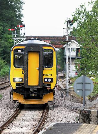 156409 Reedham 21/7/2011 2J85 1650 Lowestoft-Norwich