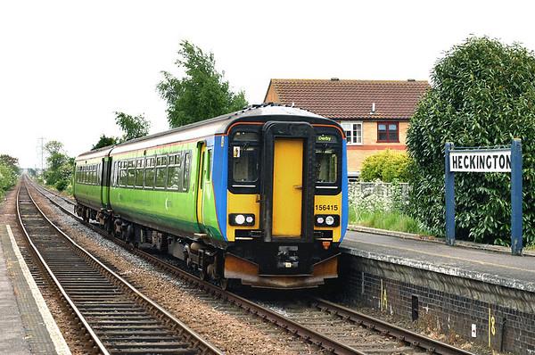 156415 Heckington 21/5/2005 2A77 1355 Skegness-Nottingham