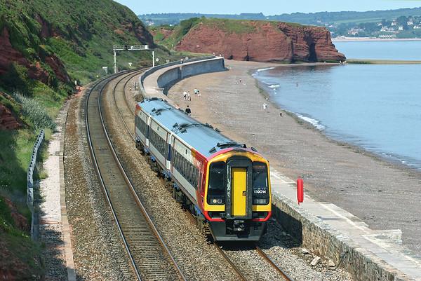 159014 Dawlish 23/6/2005 1L33 1220 London Waterloo-Plymouth