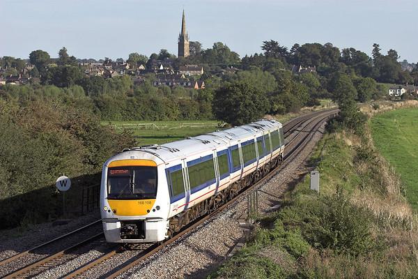 168108 Kings Sutton 8/9/2006 1G43 1630 London Marylebone-Birmingham Snow Hill