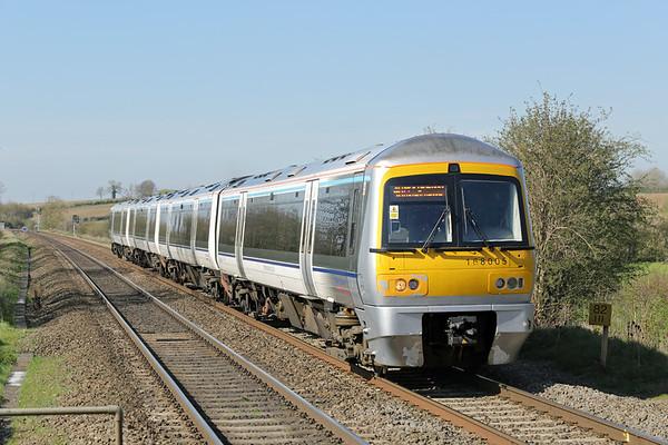 168005 Kings Sutton 14/4/2015 1H62 1455 Birmingham Moor Street-London Marylebone