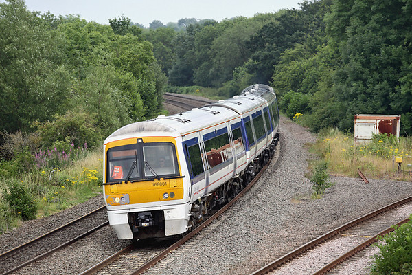 168001 Hatton North Junction 23/7/2013 1G44 1545 London Marylebone-Birmingham Snow Hill