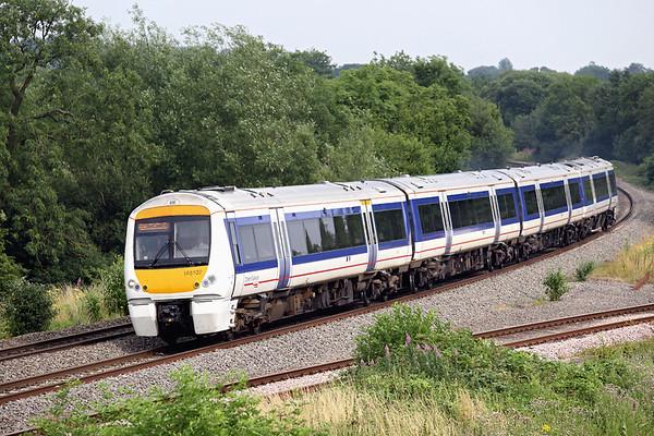 168107 Hatton North Junction 23/7/2013 1G42 1515 London Marylebone-Birmingham Snow Hill