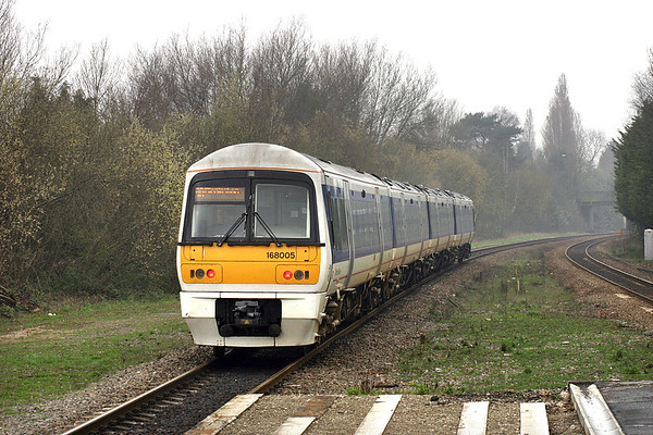 168005 Solihull 31/3/2005 1G24 1120 London Marylebone-Birmingham Snow Hill