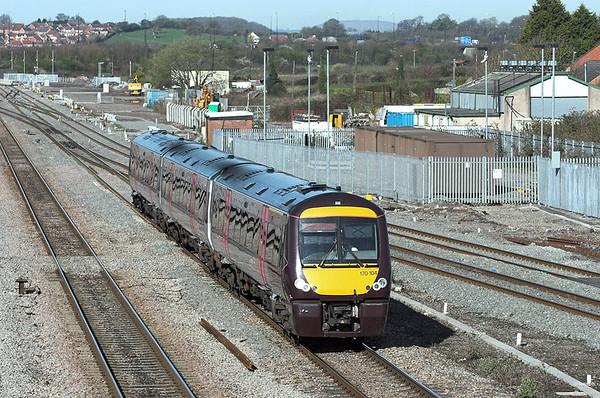 170104 Severn Tunnel Junction 8/4/2010 1M01 0845 Cardiff Central-Nottingham