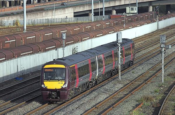 170105 Washwood Heath 26/11/2009 1V09 1207 Nottingham-Cardiff Central