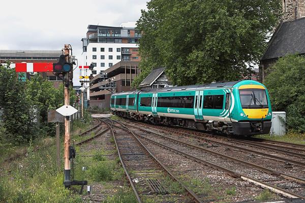170101 Lincoln Central 11/7/2007 2E61 1035 Leicester-Lincoln Central