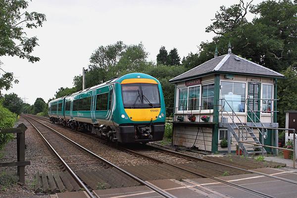 170101 Fiskerton 11/7/2007 2E69 1435 Leicester-Lincoln Central