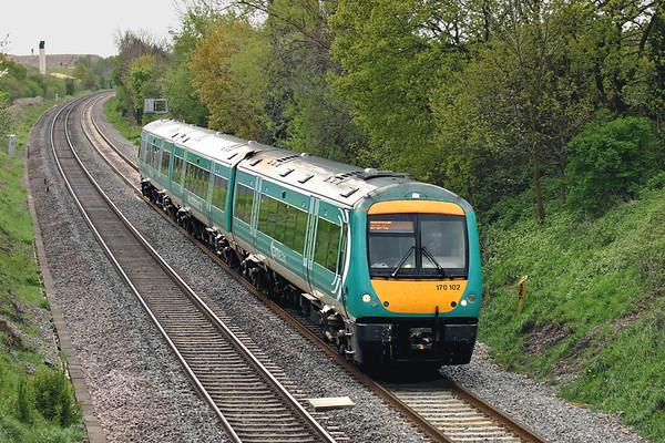 170102 Wilnecote 27/4/2005 1M62 1050 Cardiff Central-Nottingham