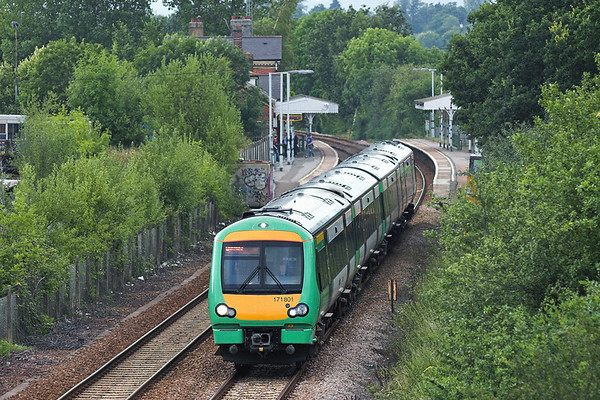 171801 Edenbridge Town 28/7/2005 1E45 1607 London Bridge-Uckfield