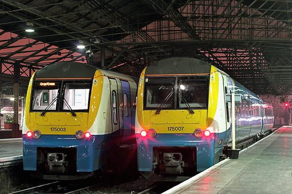 175007 and 175003, Crewe 18/3/2009
