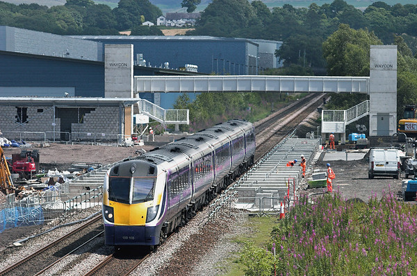180108 Buckshaw Parkway 14/7/2011 2N97 1322 Manchester Victoria-Blackpool North