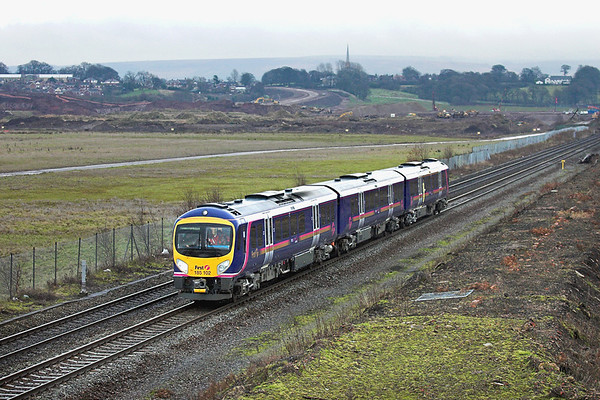 185102 Buckshaw Village 22/12/2005 5T71 1243 Longsight-Preston (First British run of a class 185)