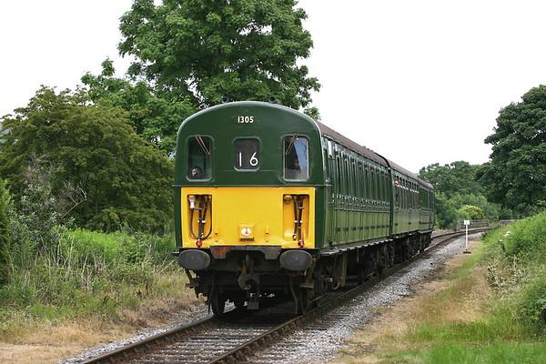 1305 Irwell Vale 8/7/2005 1J16 1402 Rawtenstall-Heywood