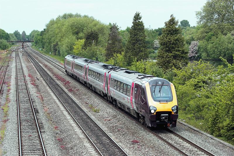 220009 Hinksey 10/6/2013<br /> 1O86 0935 Newcastle-Southampton Central