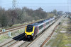 220023 North Stafford Junction 14/3/2014<br /> 1O86 0935 Newcastle-Southampton Central