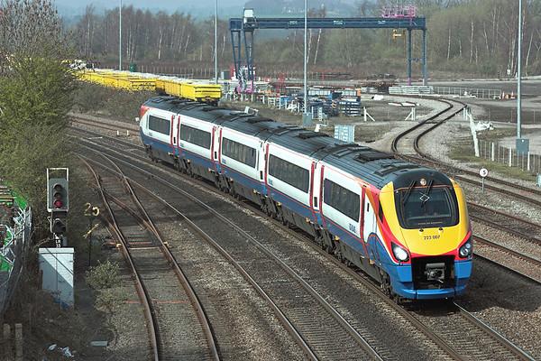 222007 Wellingborough 3/4/2009 1C52 1418 Derby-London St Pancras