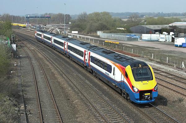 222011 Wellingborough 3/4/2009 1C50 1327 Sheffield-London St Pancras