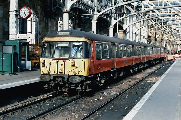 303001 Glasgow Central 25/10/1997