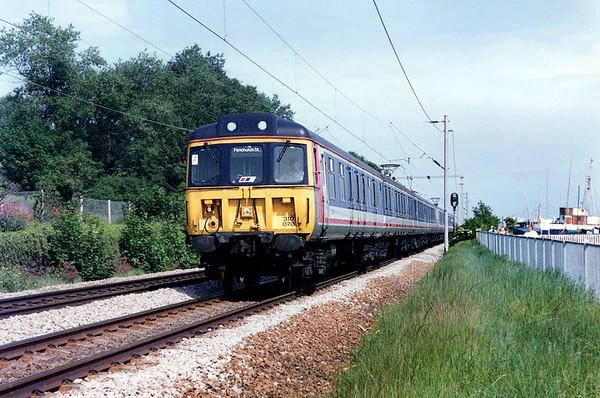 310070 and 310066, Leigh-on-Sea 12/6/1992