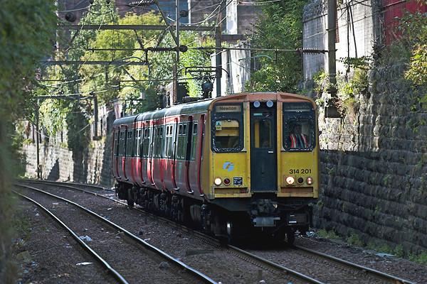 314201 Crosshill 2/9/2005 2P26 1610 Glasgow Central-Newton