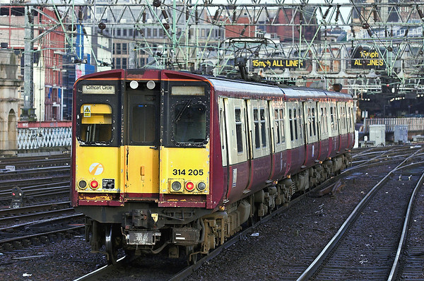 314205 Glasgow Central 3/1/2006 2O16 0940 Glasgow Central-Glasgow Central  (via Cathcart Circle, clockwise)