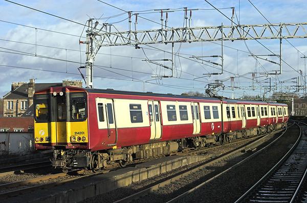 314201 Paisley Gilmour Street 18/1/2011 2G53 1335 Glasgow Central-Edinburgh