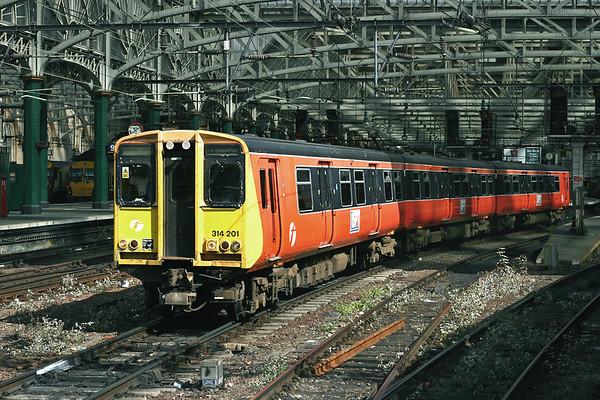 314201 Glasgow Central 26/7/2005 2O20 1040 Glasgow Central-Glasgow Central  (via Cathcart Circle, clockwise)