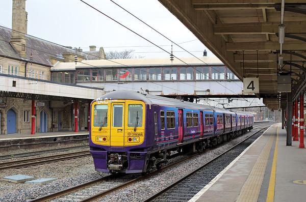 319366 Lancaster 11/3/2015 5Z28 1048 Carnforth-Preston