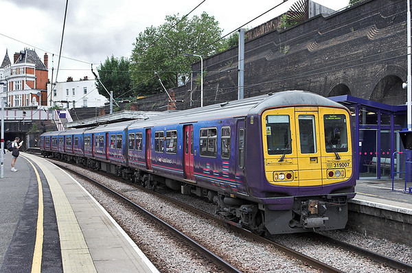 319007 Kentish Town 26/7/2010 2O41 1014 St Albans-Sutton