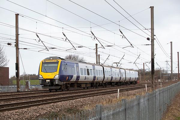 331013 Farington 1/2/2020 1F08 1003 Blackpool North-Liverpool Lime Street