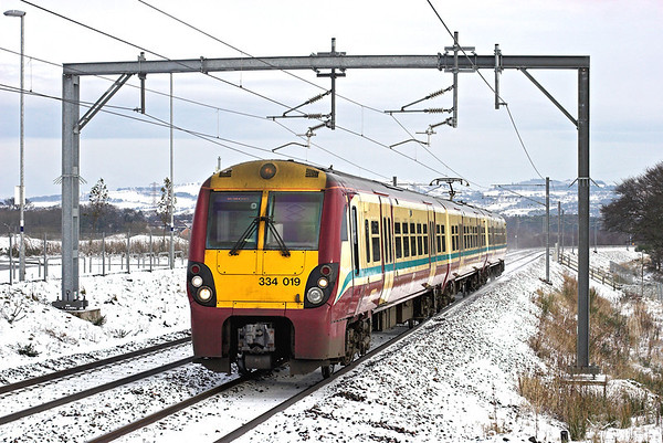 334019 Armadale 22/1/2013 2M15 1107 Edinburgh-Milngavie