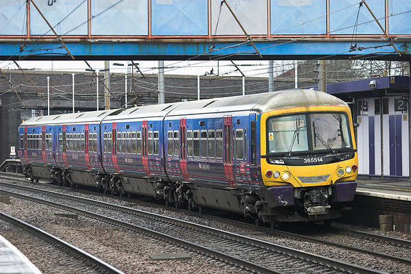 365514 Alexandra Palace 25/1/2011 1P71 1243 Peterborough-London Kings Cross