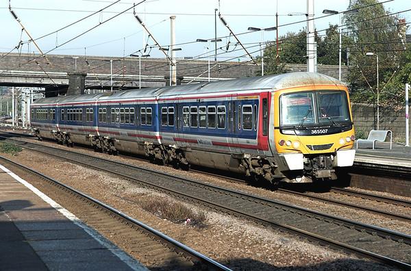 365507 Alexandra Palace 6/11/2006 2P53 0920 Peterborough-London Kings Cross